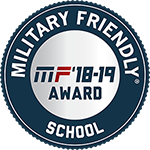 One of the logos for the Military Friendly Schools program.