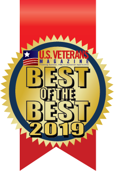 Best university in 2019 for Veteran Students by U.S. Veterans Magazine